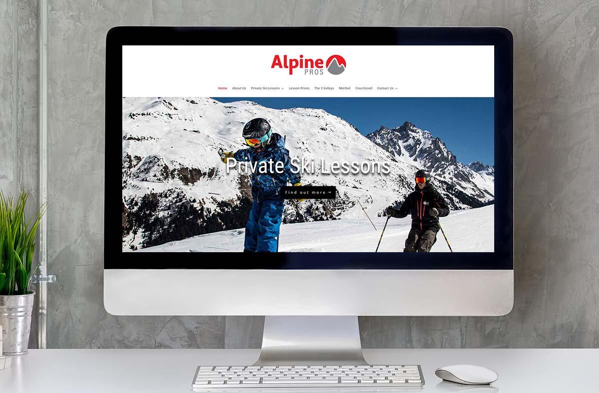 Alpine Pros website