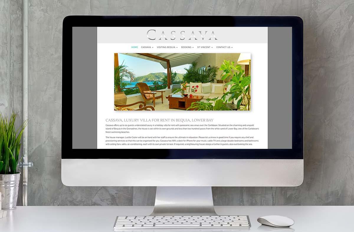 Cassava House, Bequia website