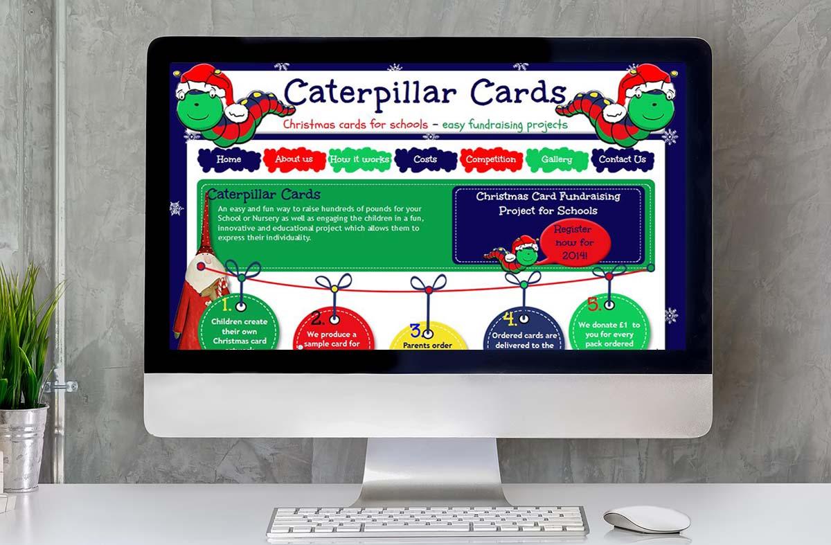 Caterpillar Cards