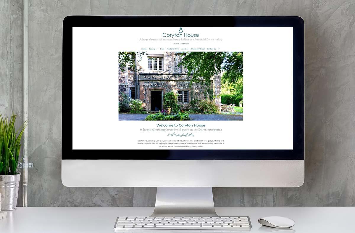 Coryton House Website