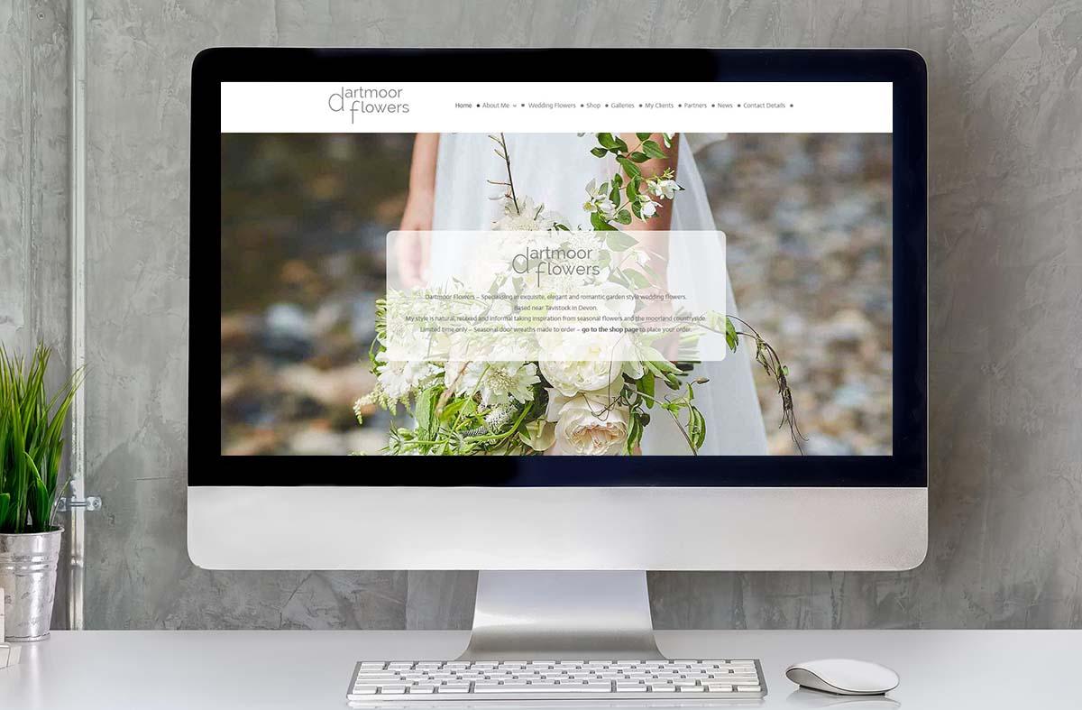 Dartmoor Flowers website