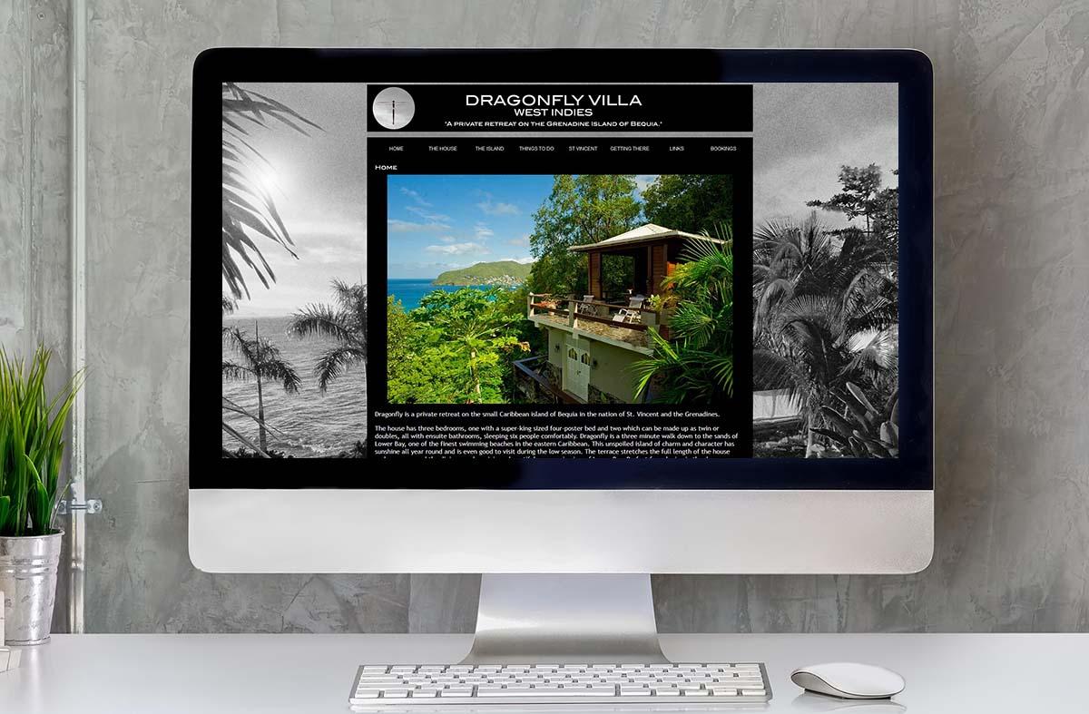 Dragonfly Villa, Bequia website