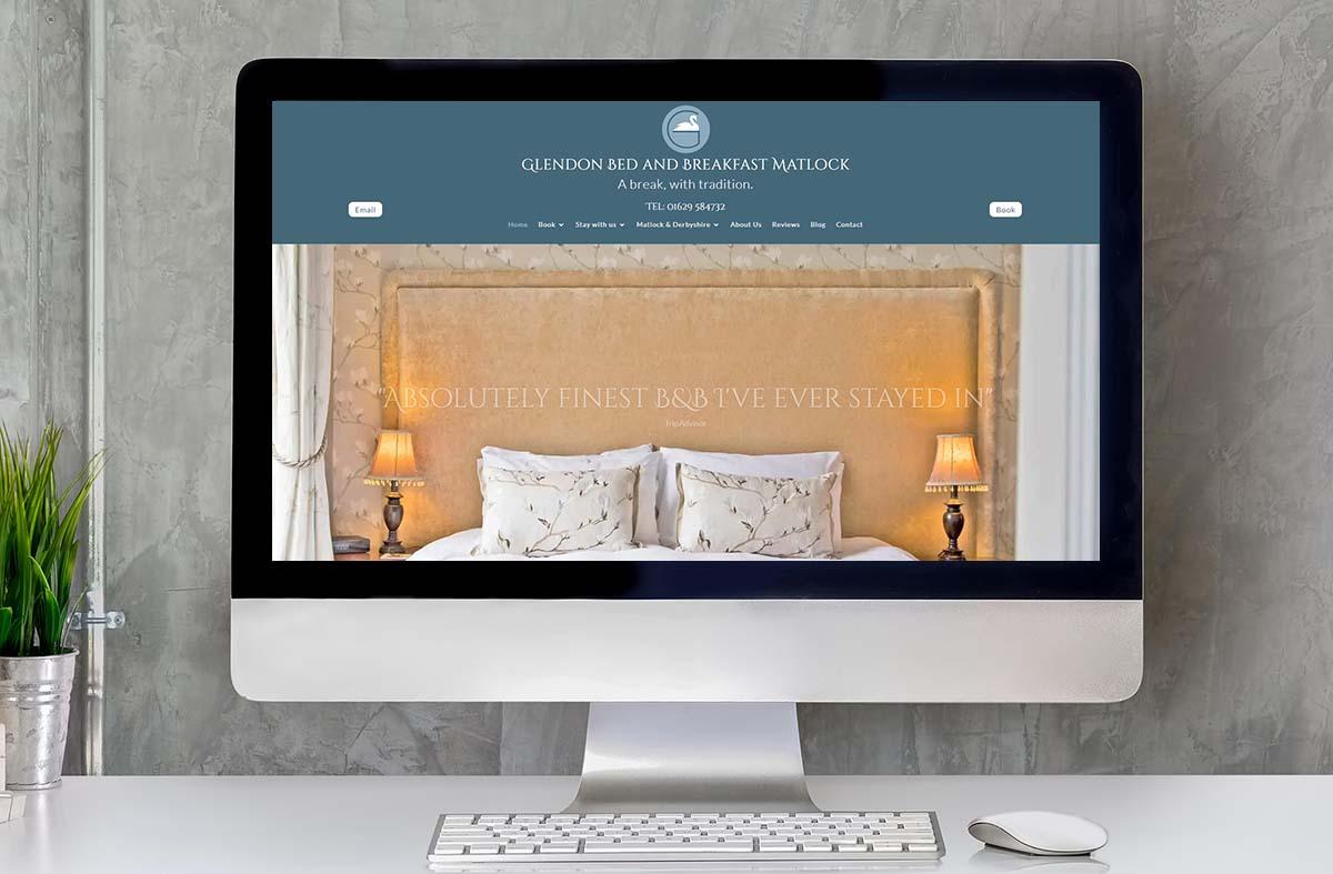 Glendon Bed and Breakfast website
