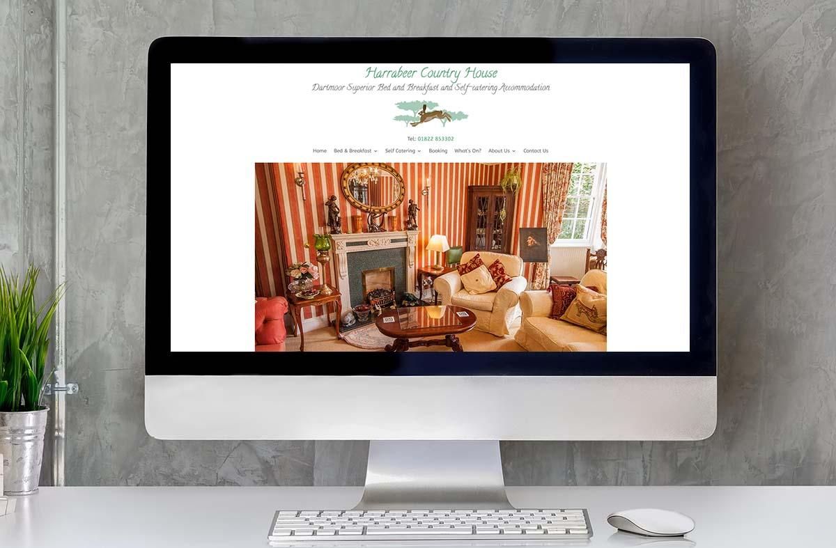Harrabeer Country House website