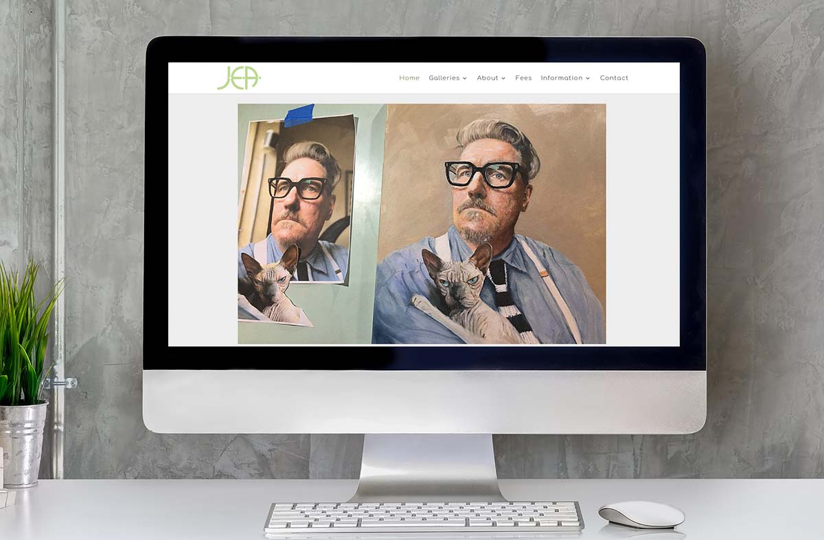 Jon Elworthy Art website