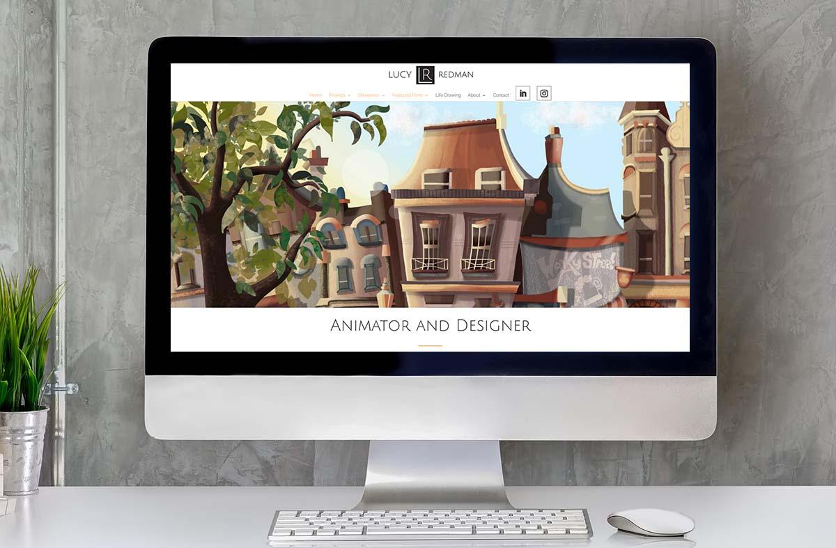 Lucy Redman Animator website