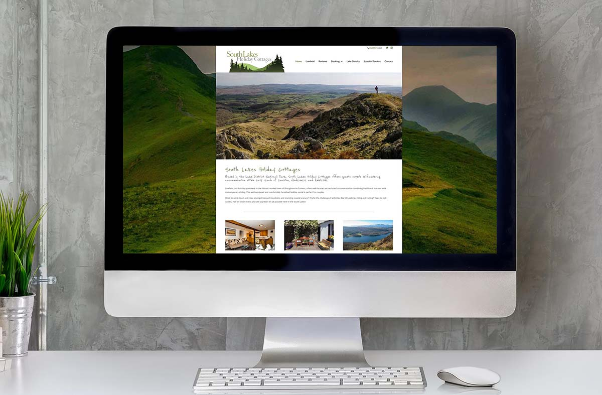 South Lakes Holiday Cottages website