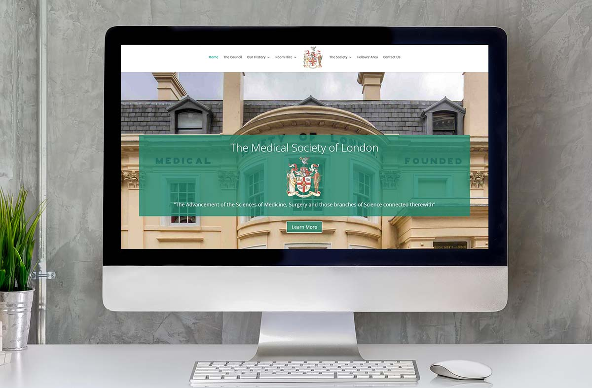 The Medical Society of London website