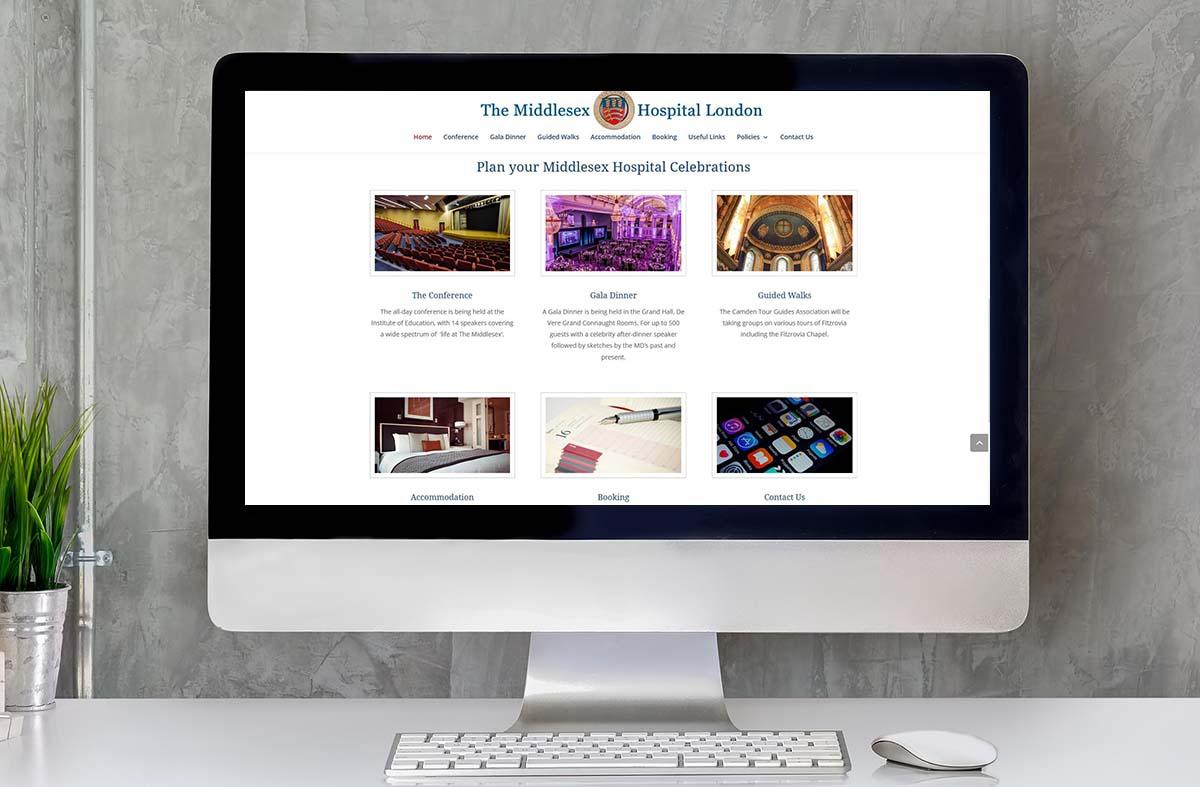 The Middlesex Hospital London Celebrations website