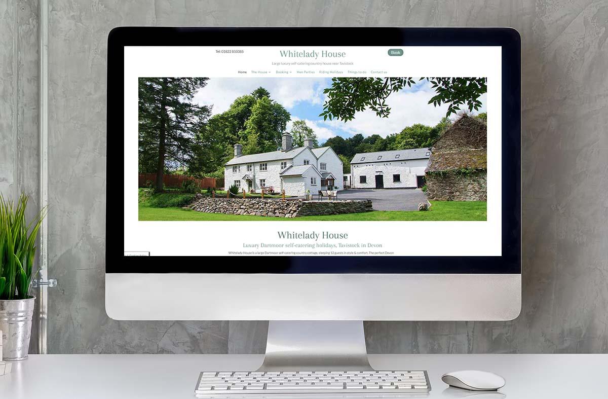 Whitelady House website